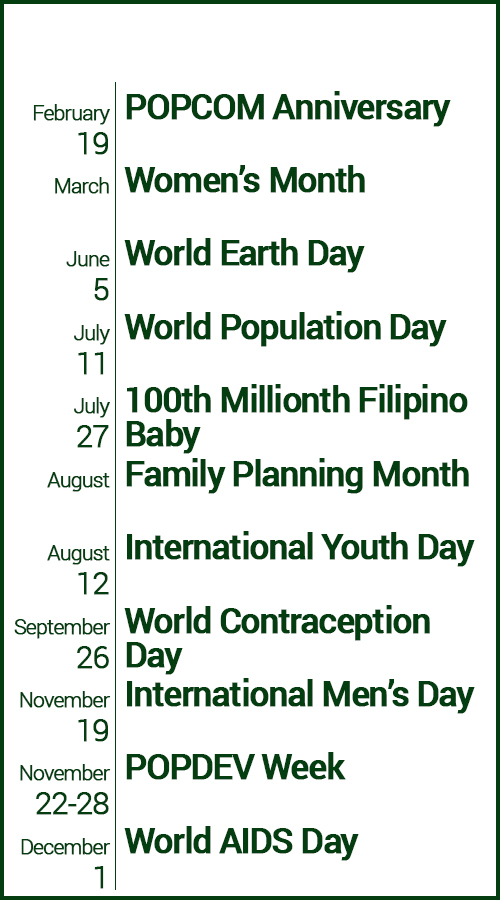 population related events